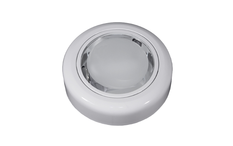 Surface-mounting Downlight, glass diffuser, 1xE27