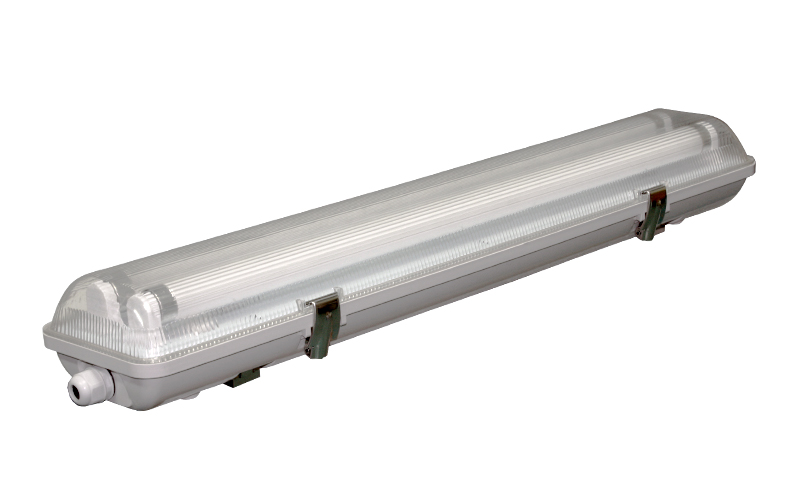 Waterproof Fluorescent Fixture for T8